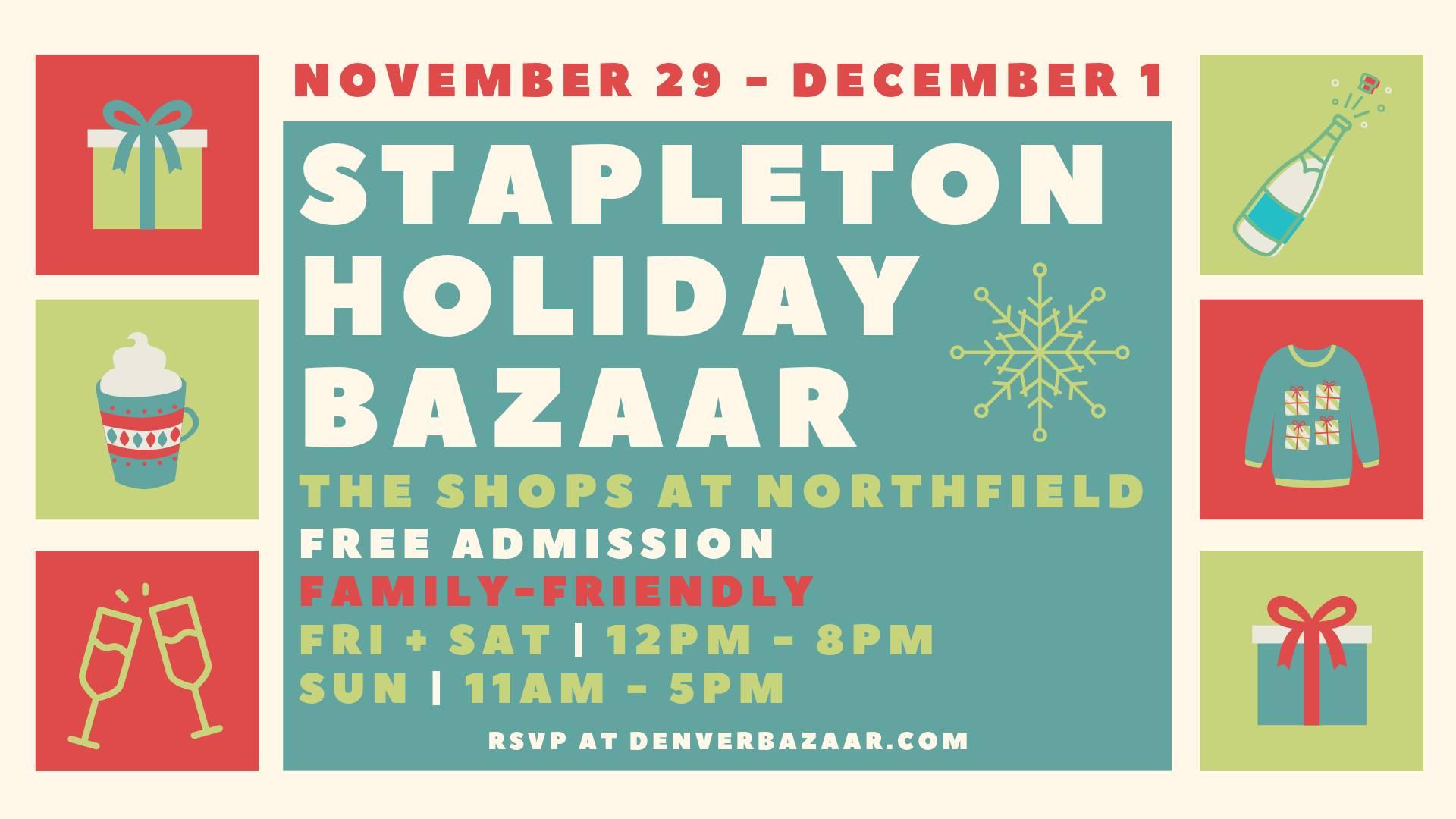 Stapleton Holiday BAZAAR Friday cover photo 2