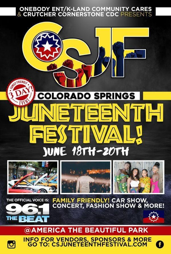 Colorado Springs Juneteenth Festival cover photo 1