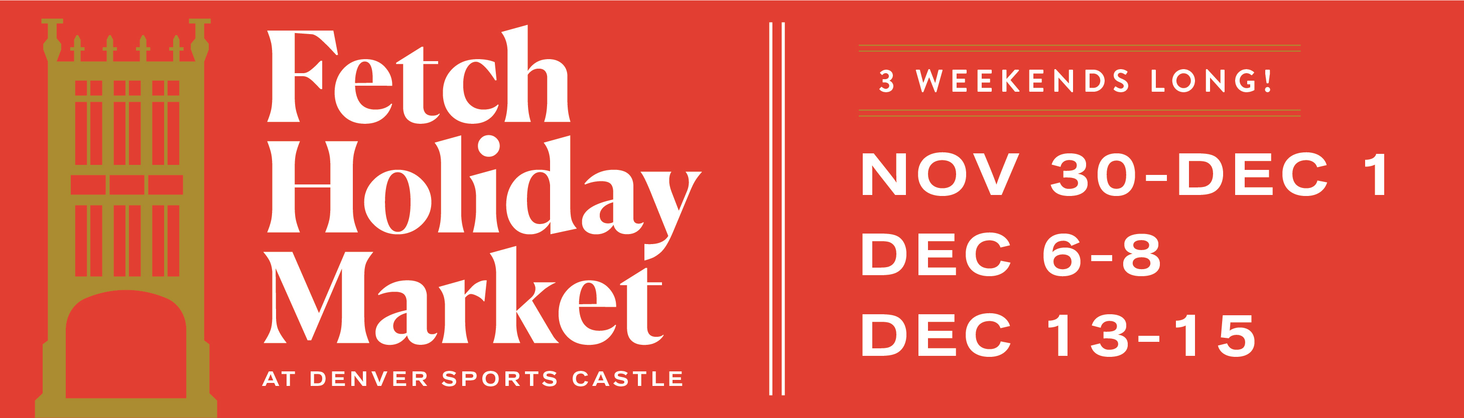 Fetch Holiday Market Saturday cover photo 1