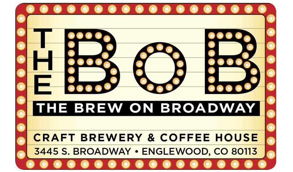 The Brew On Broadway (The BoB) logo