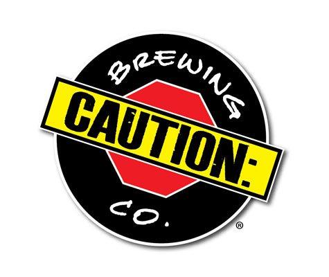 Caution: Brewing Company logo