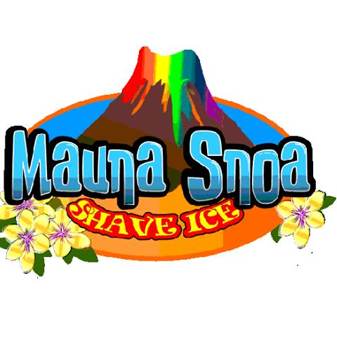 Mauna Snoa Shave Ice logo
