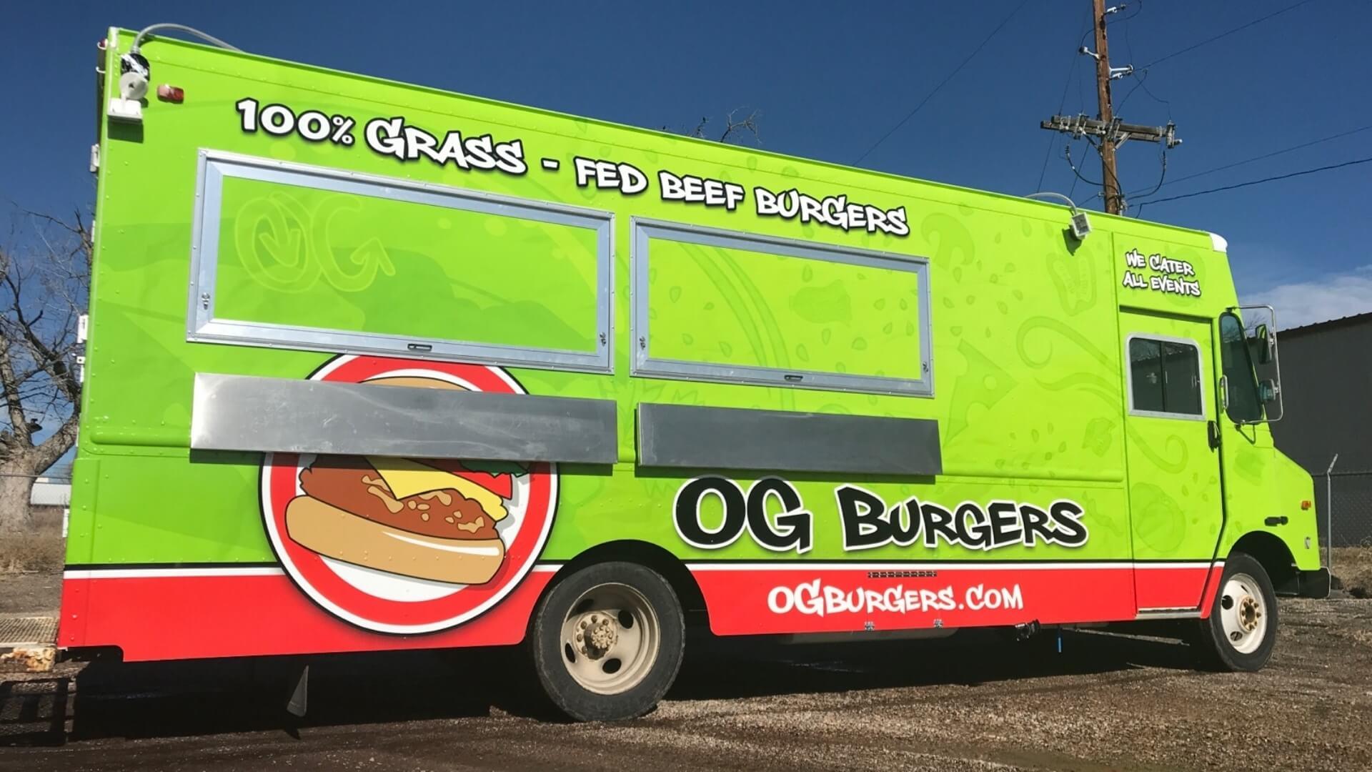 Og Burgers Food Truck Denver And Boulder Co Truckster