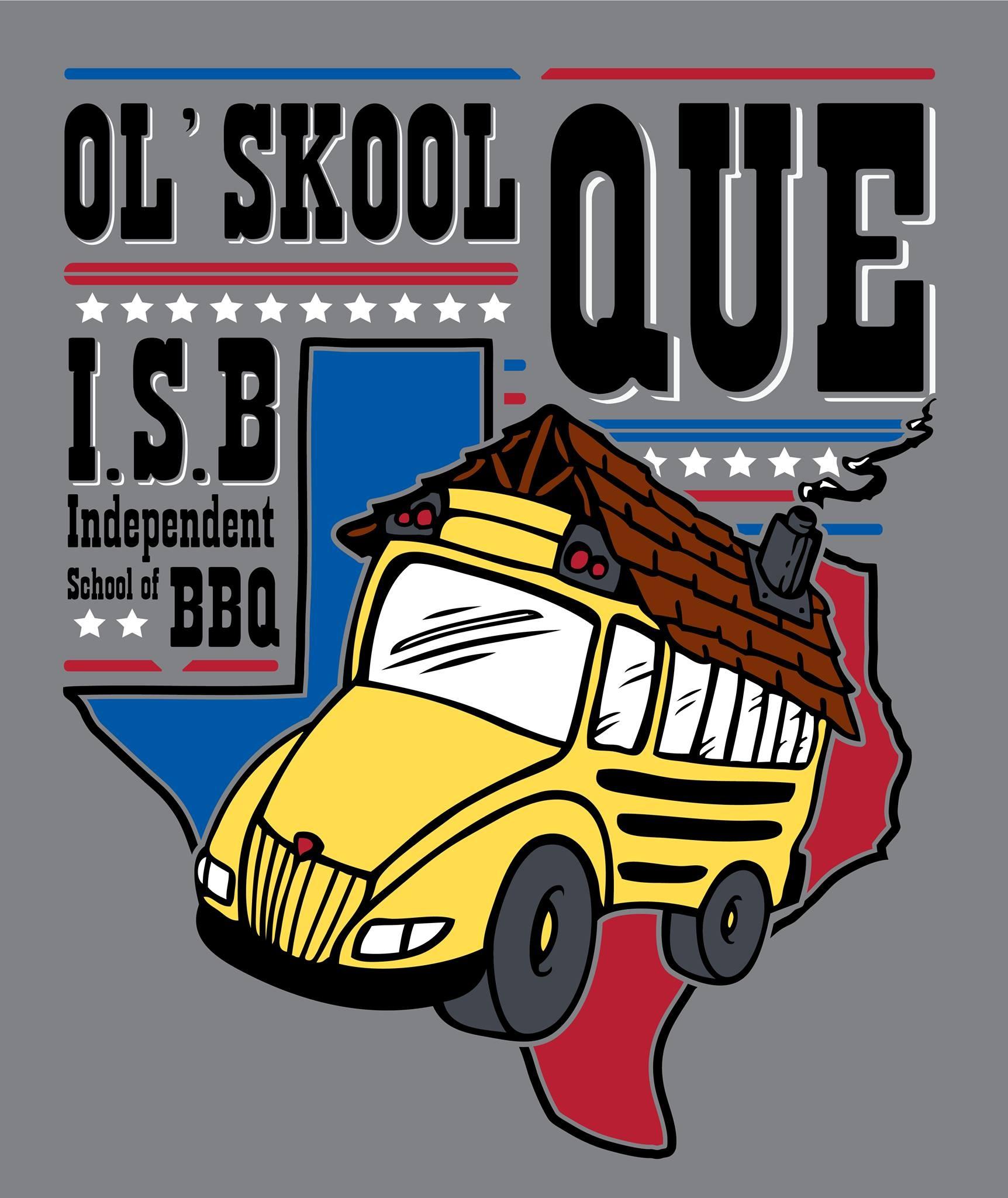 Ol'Skool Que logo