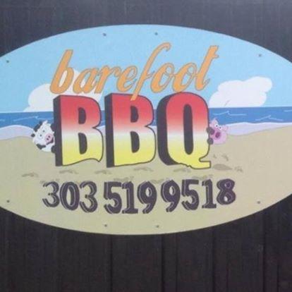 Barefoot BBQ logo