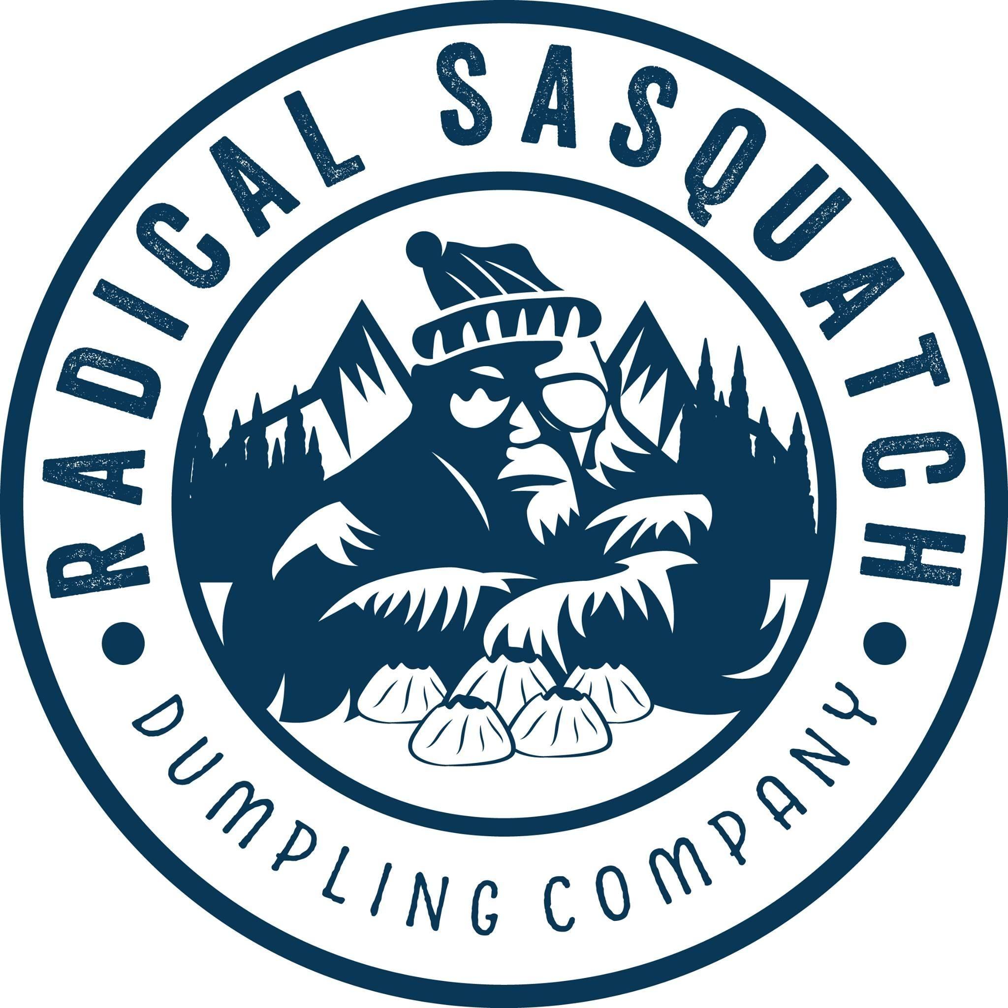 Radical Sasquatch Dumpling Company logo