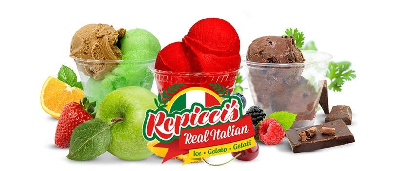 Repicci's Italian Ice & Gelato logo