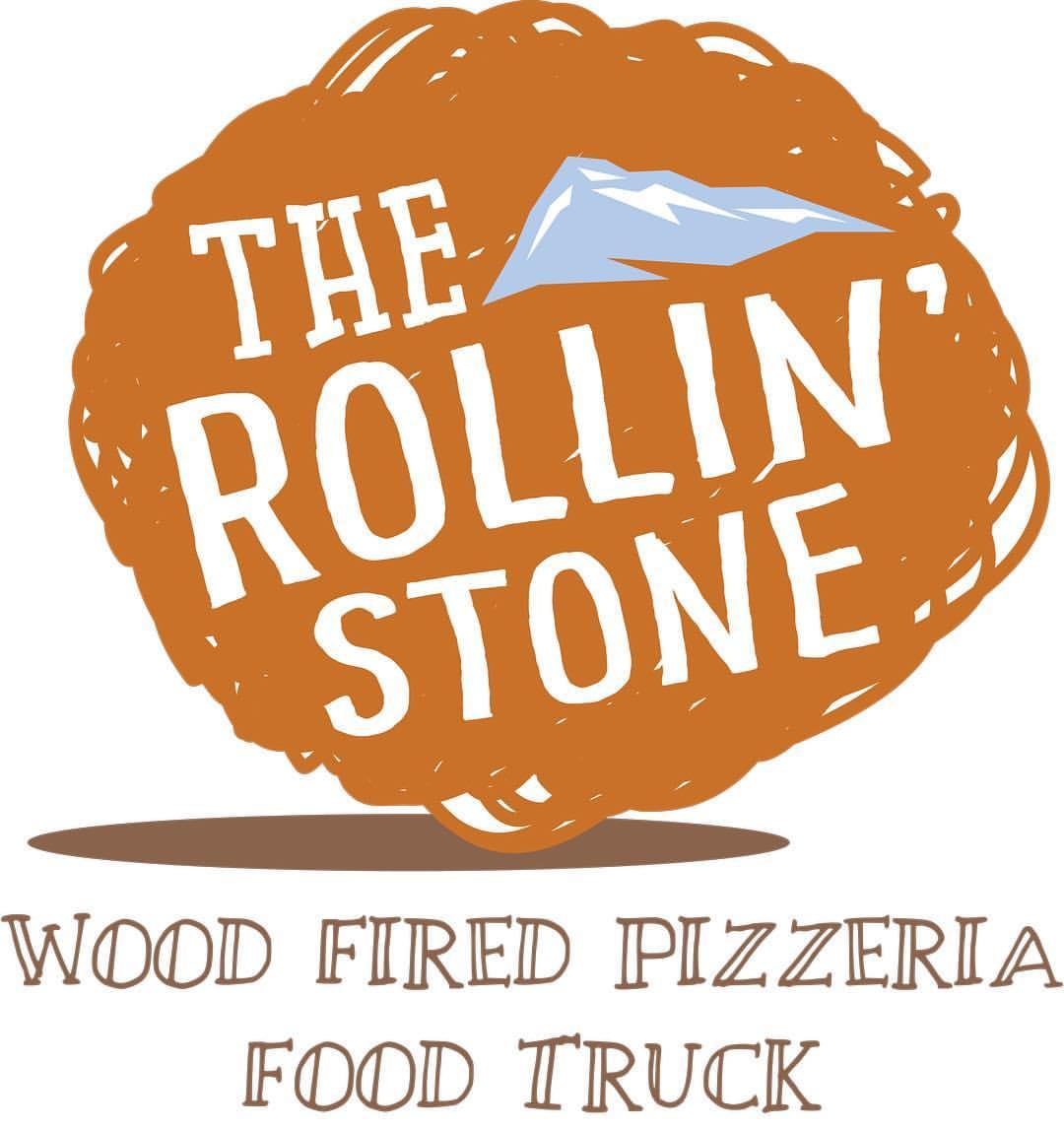 Rollin' Stone Wood Fired Pizzeria logo