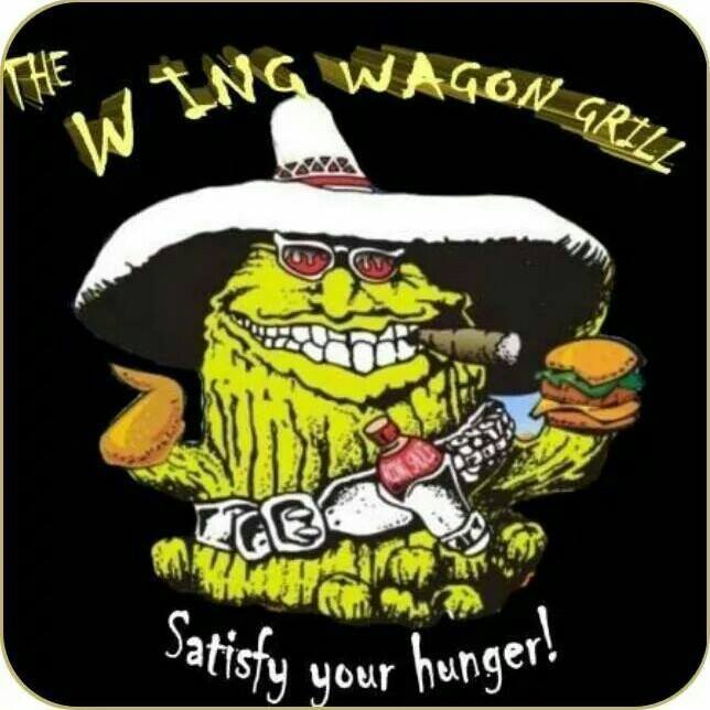The Wing Wagon Grill logo