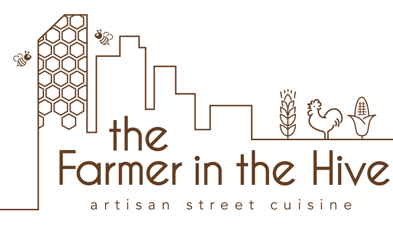 The Farmer in the Hive logo