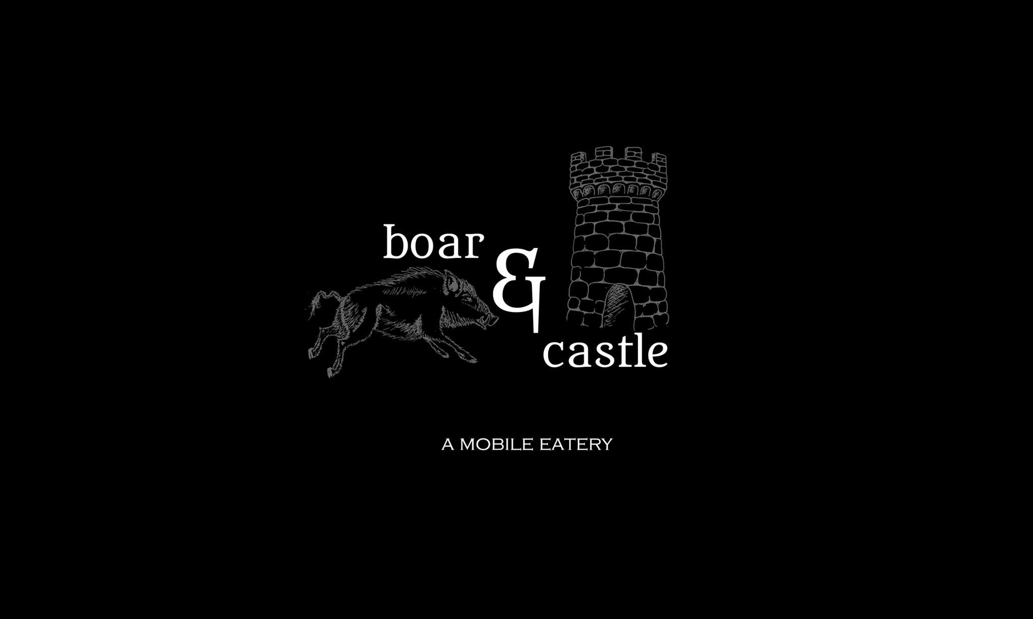Boar & Castle Mobile Eatery logo