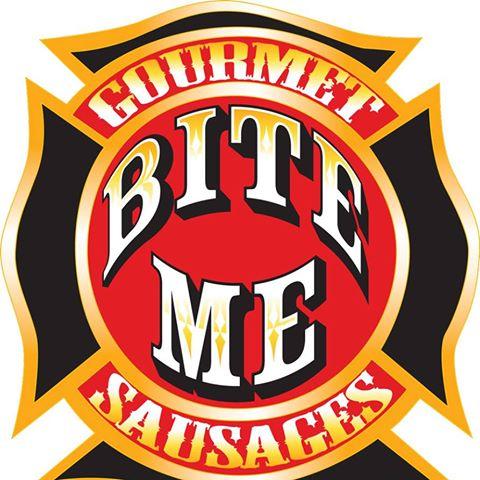 Bite Me Gourmet Sausage logo