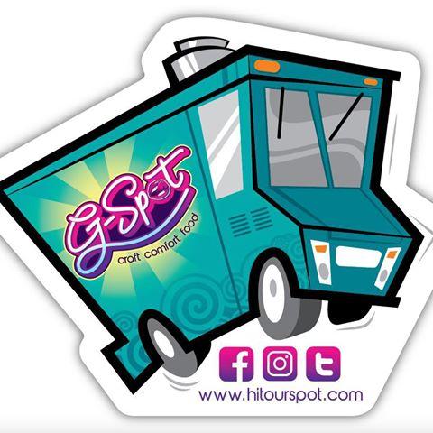 The G-Spot Noshery Food Truck logo