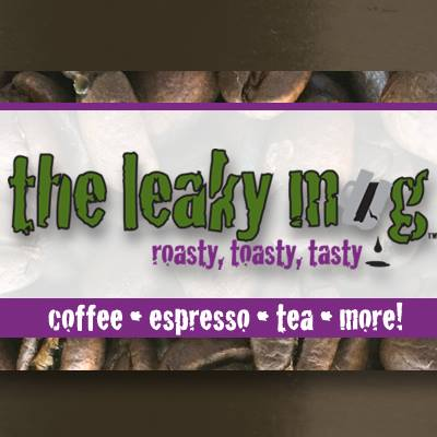 The Leaky Mug logo