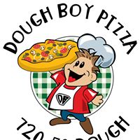 Dough Boy Pizza Truck logo