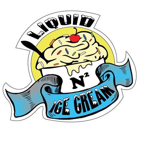 Liquid N2 ice cream logo