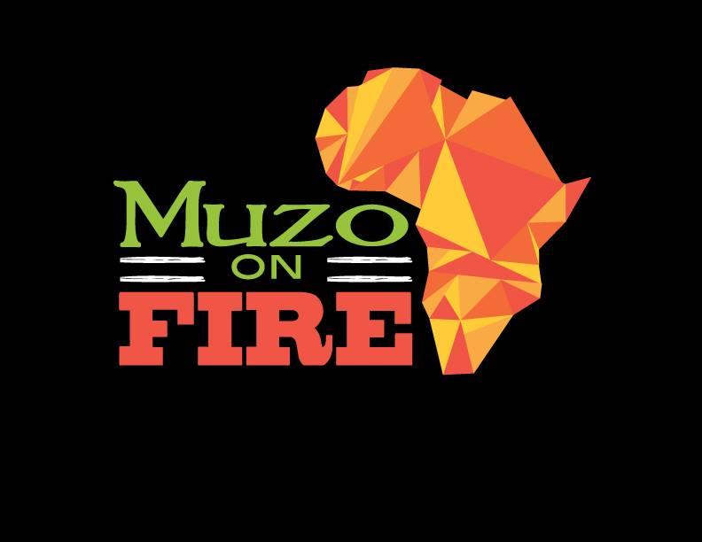 Muzo on Fire Food Truck logo