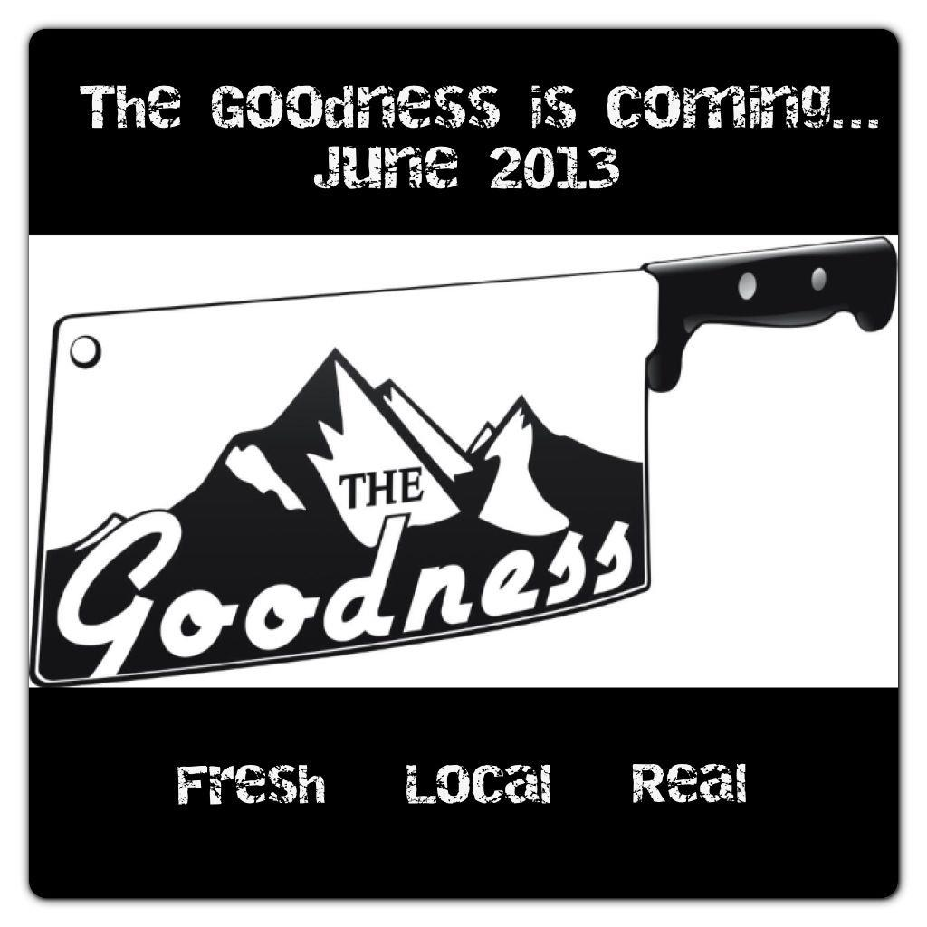 The Goodness logo