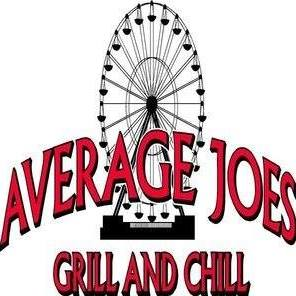 Average Joe's Grill and Chill logo