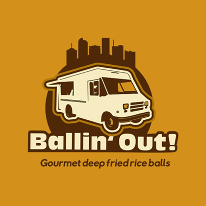 Ballin' Out Food Truck logo