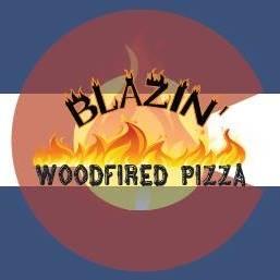 Blazin' Wood Fired Pizza logo