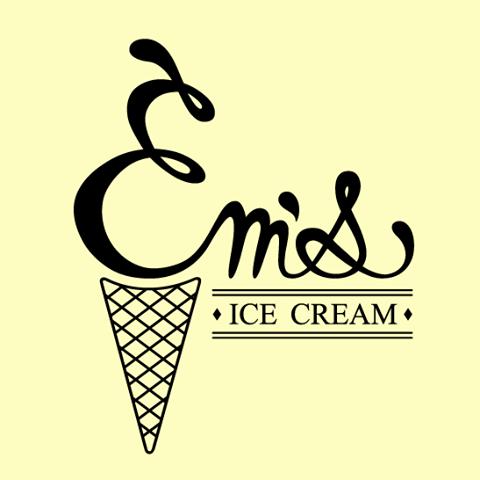 Em's Ice Cream logo
