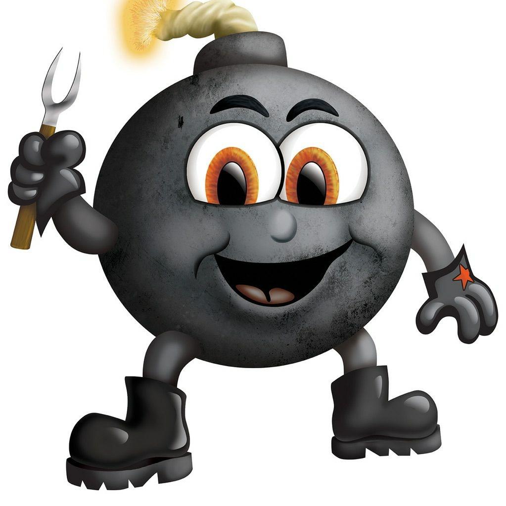 Smoke Bomb BBQ logo