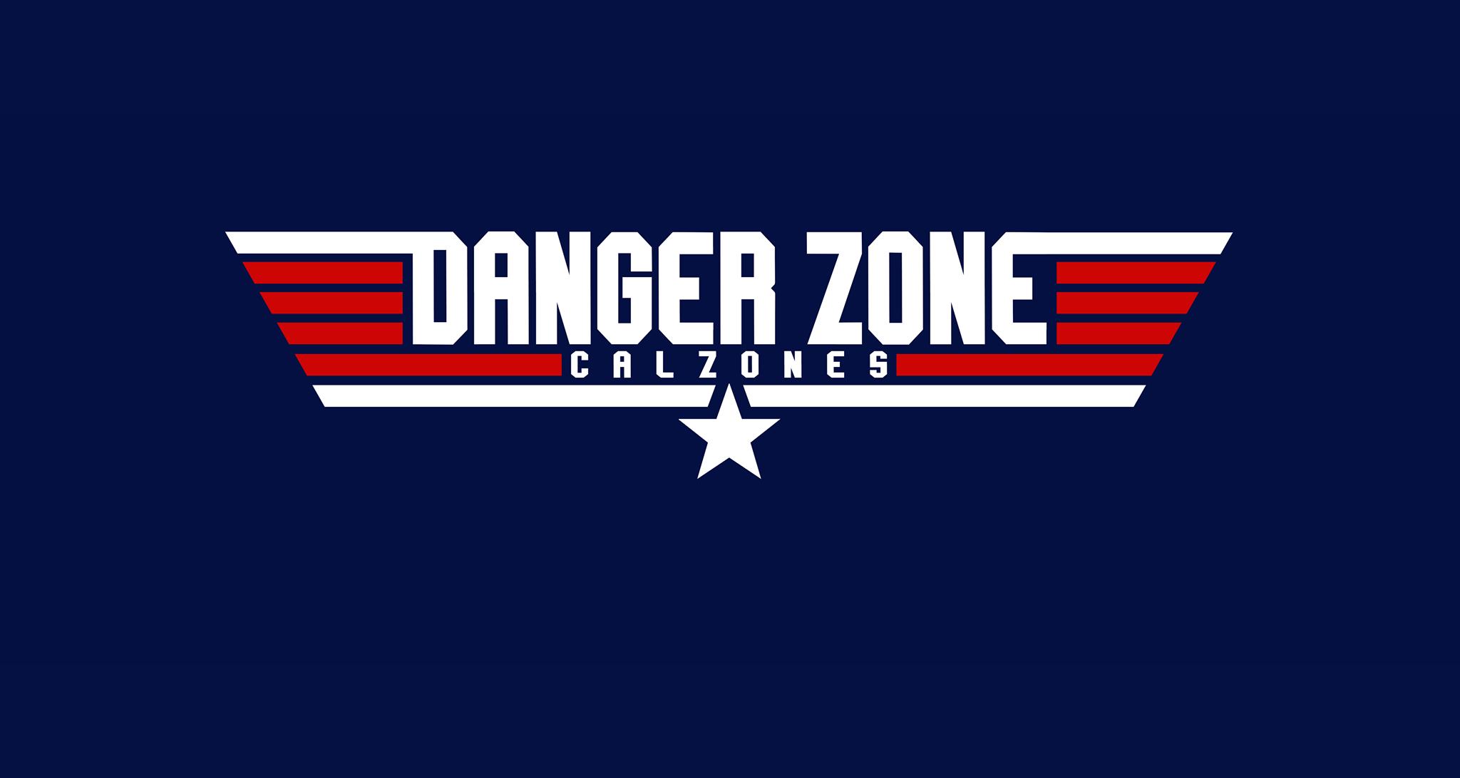 Danger Zone Calzones logo
