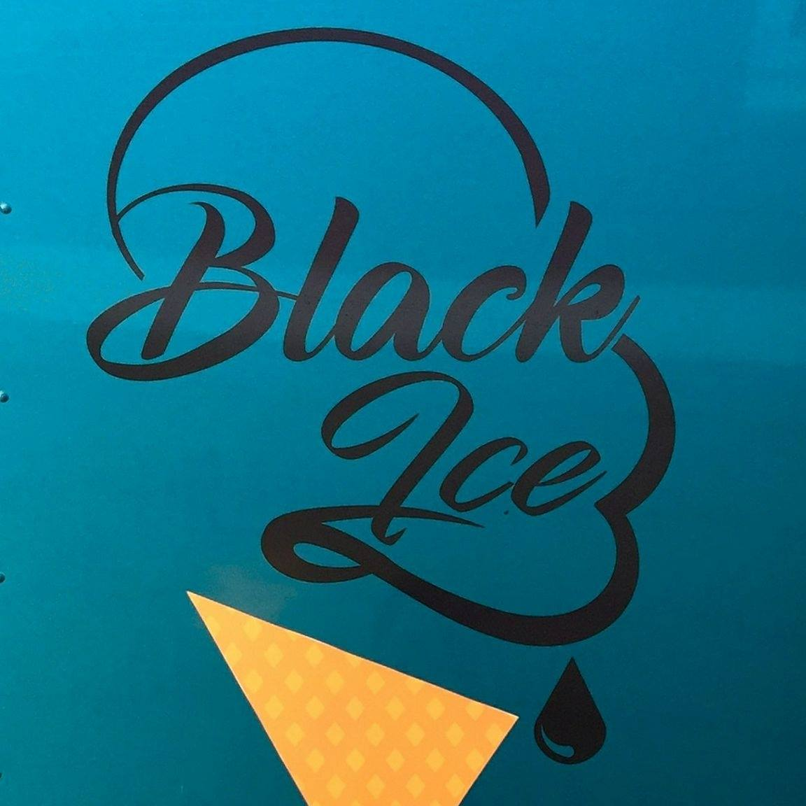 BLACK ICE: Sweet Creams & Treats logo