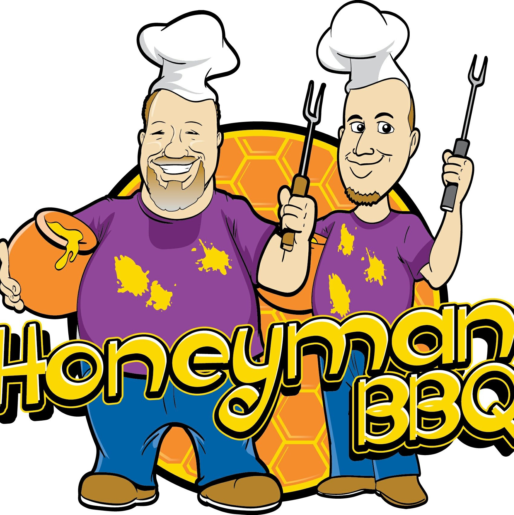 Honeyman BBQ logo