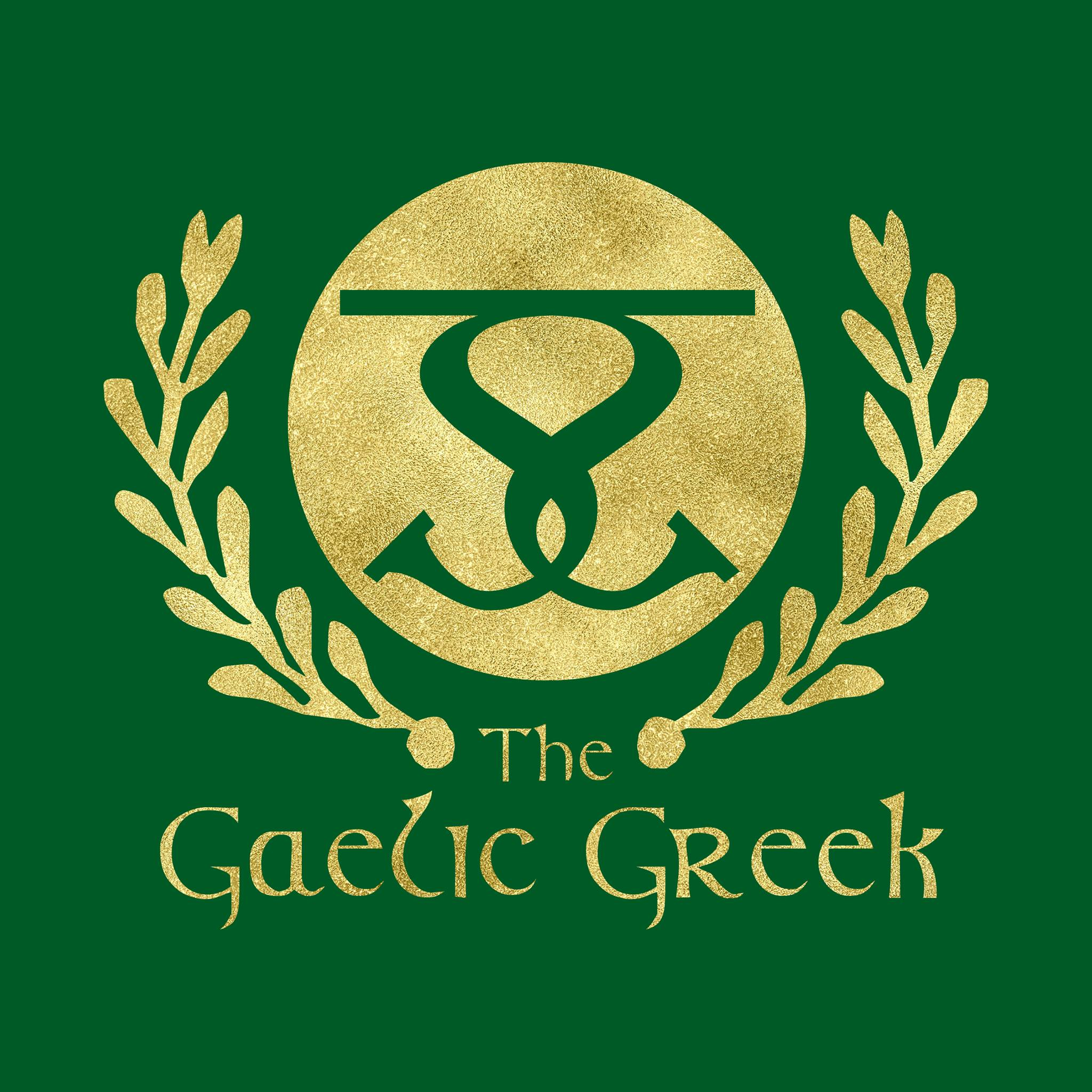 The Gaelic Greek logo