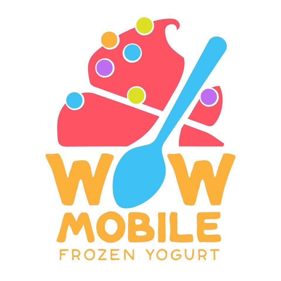 Wow Mobile Frozen Yogurt logo