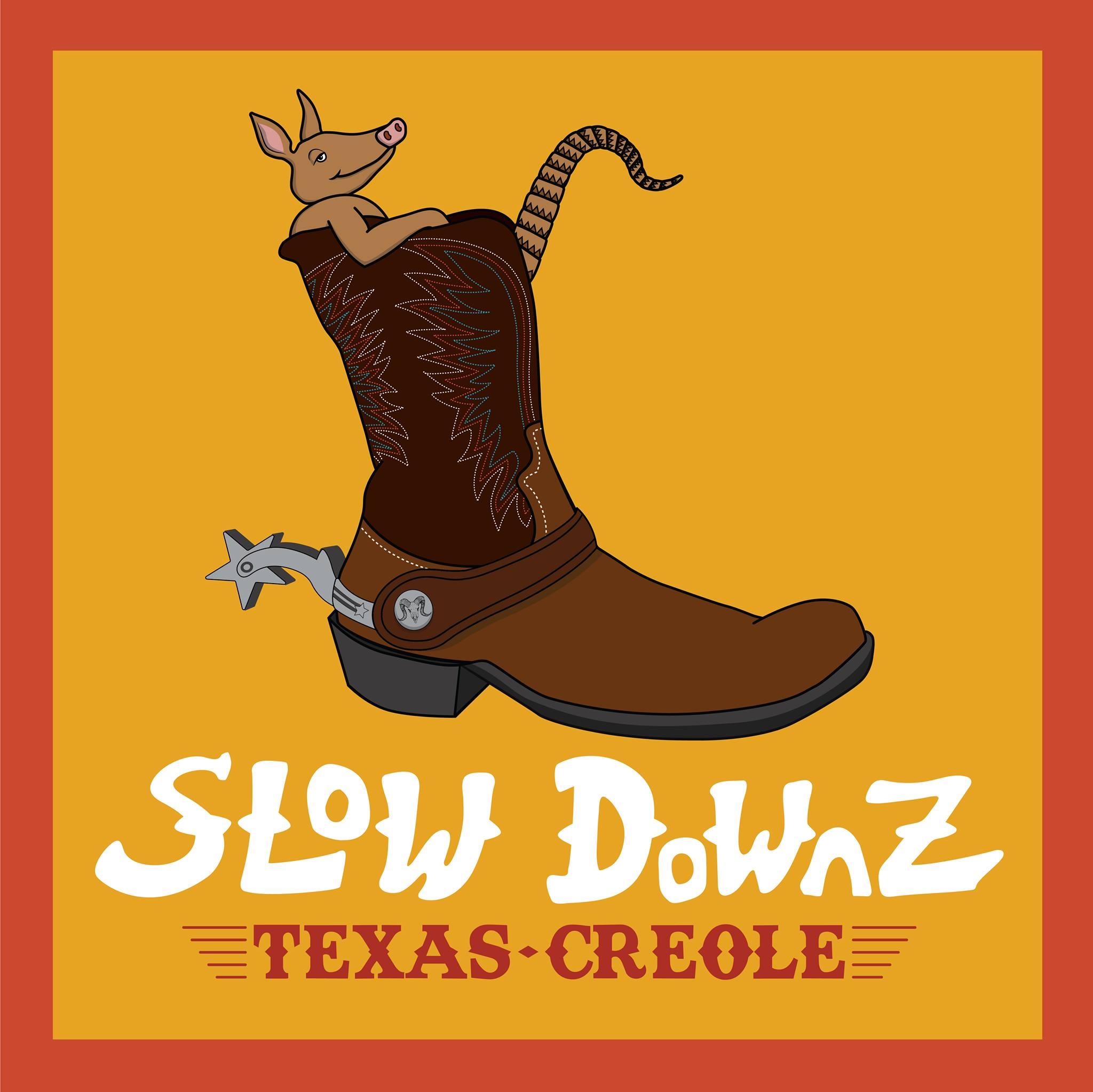Slow Downz Texas Creole logo