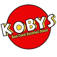 Koby's East Coast Snowball Stand logo