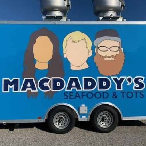 MacDaddy's Seafood & Tots logo