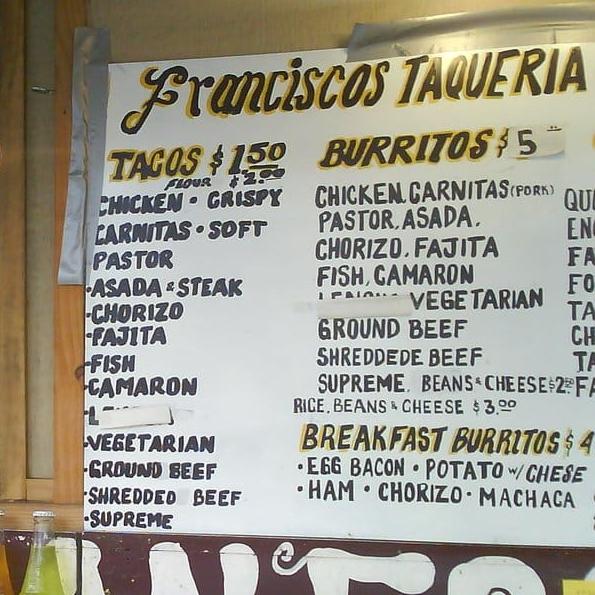 Taqueria Francisco logo