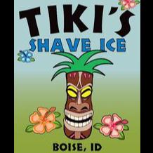 Tiki's Shave Ice logo