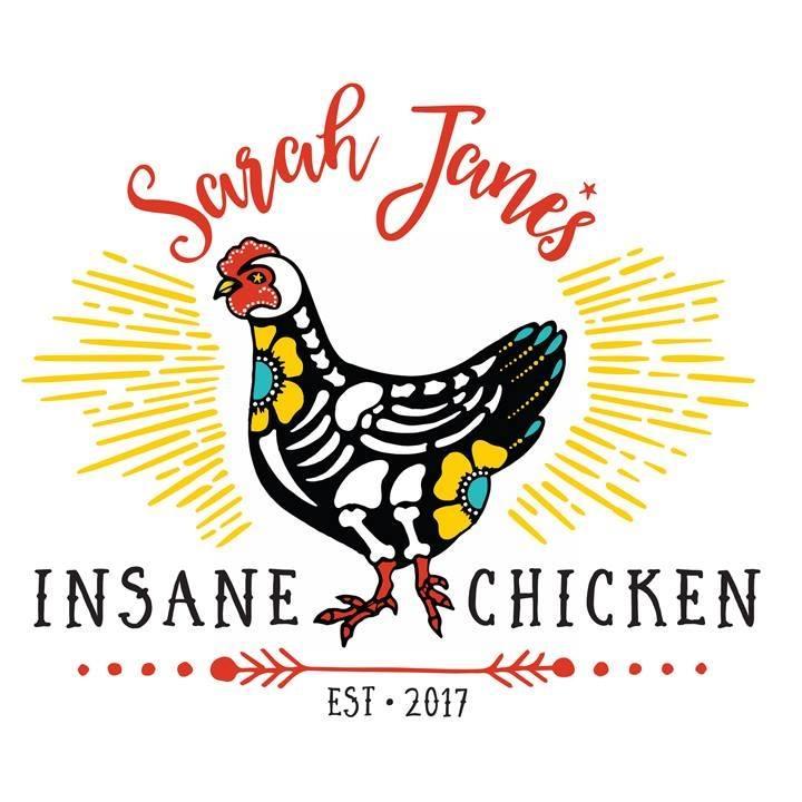 Sarah Jane's Insane Chicken logo