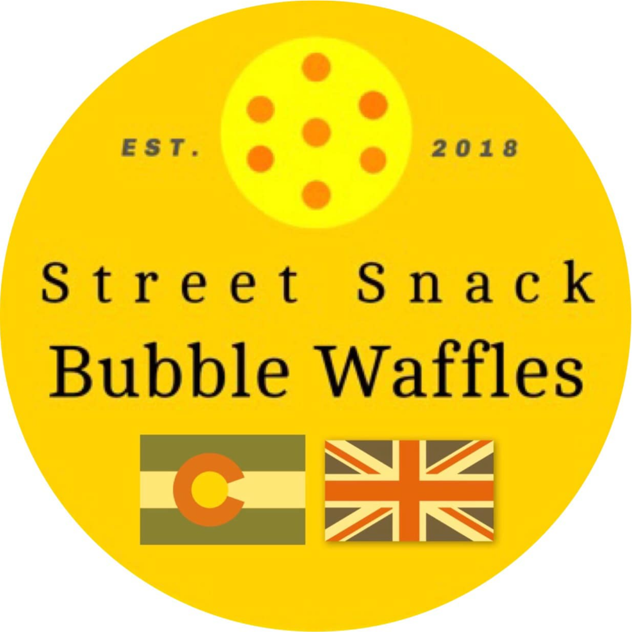 Street Snack Bubble Waffles logo