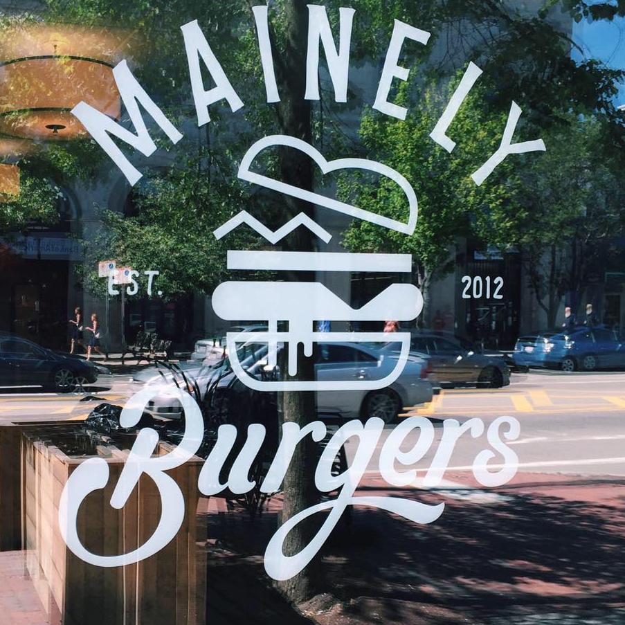 Mainely Burger logo
