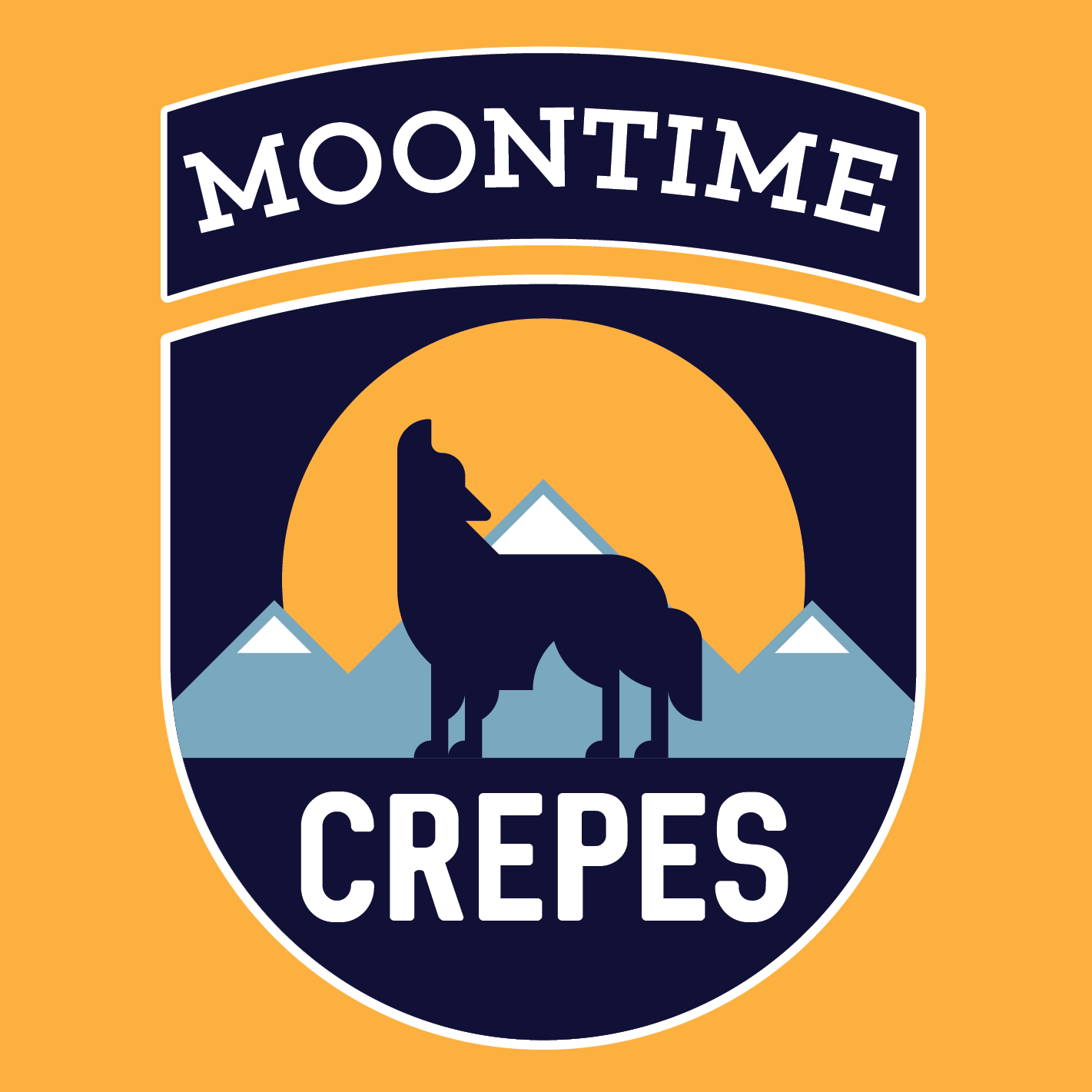 Moontime Crepes logo