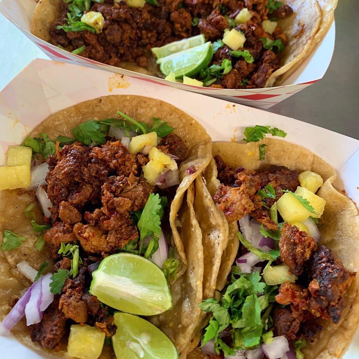 Taconmaye Mexican Food Truck logo