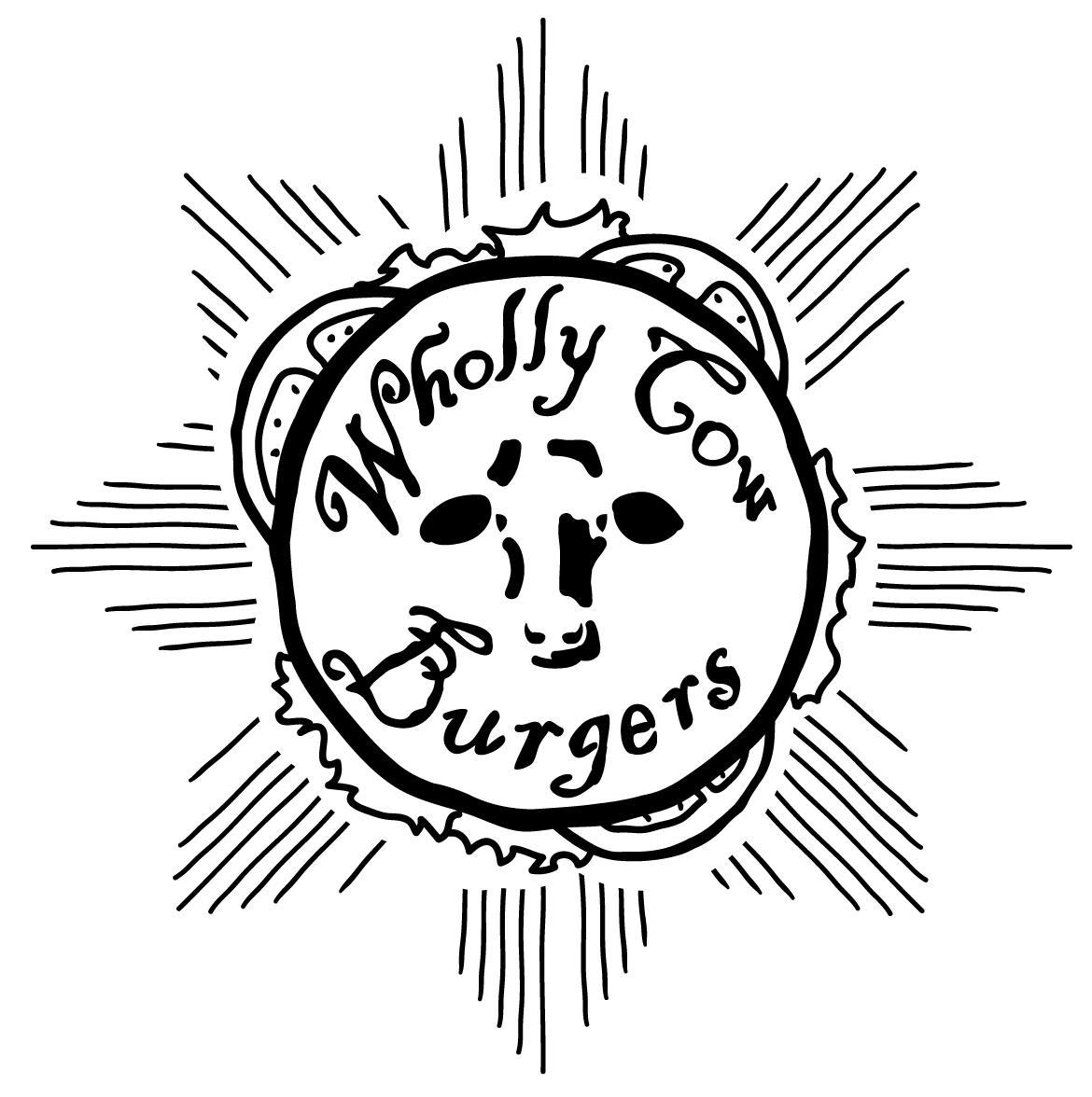 Wholly Cow Burgers logo