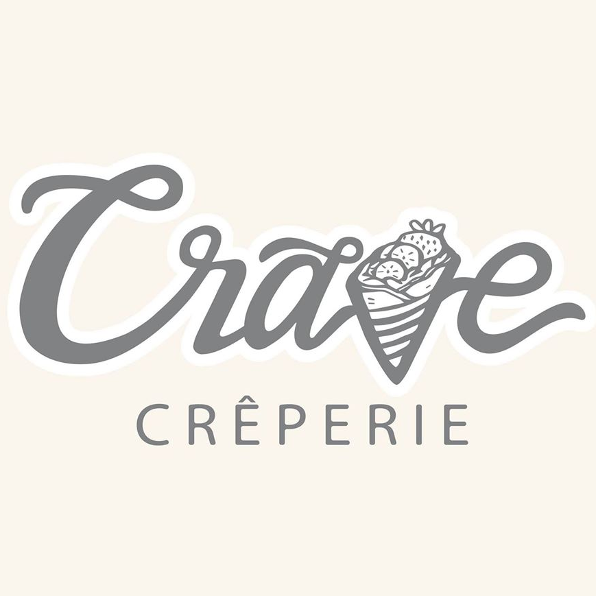 Crave Creperie logo