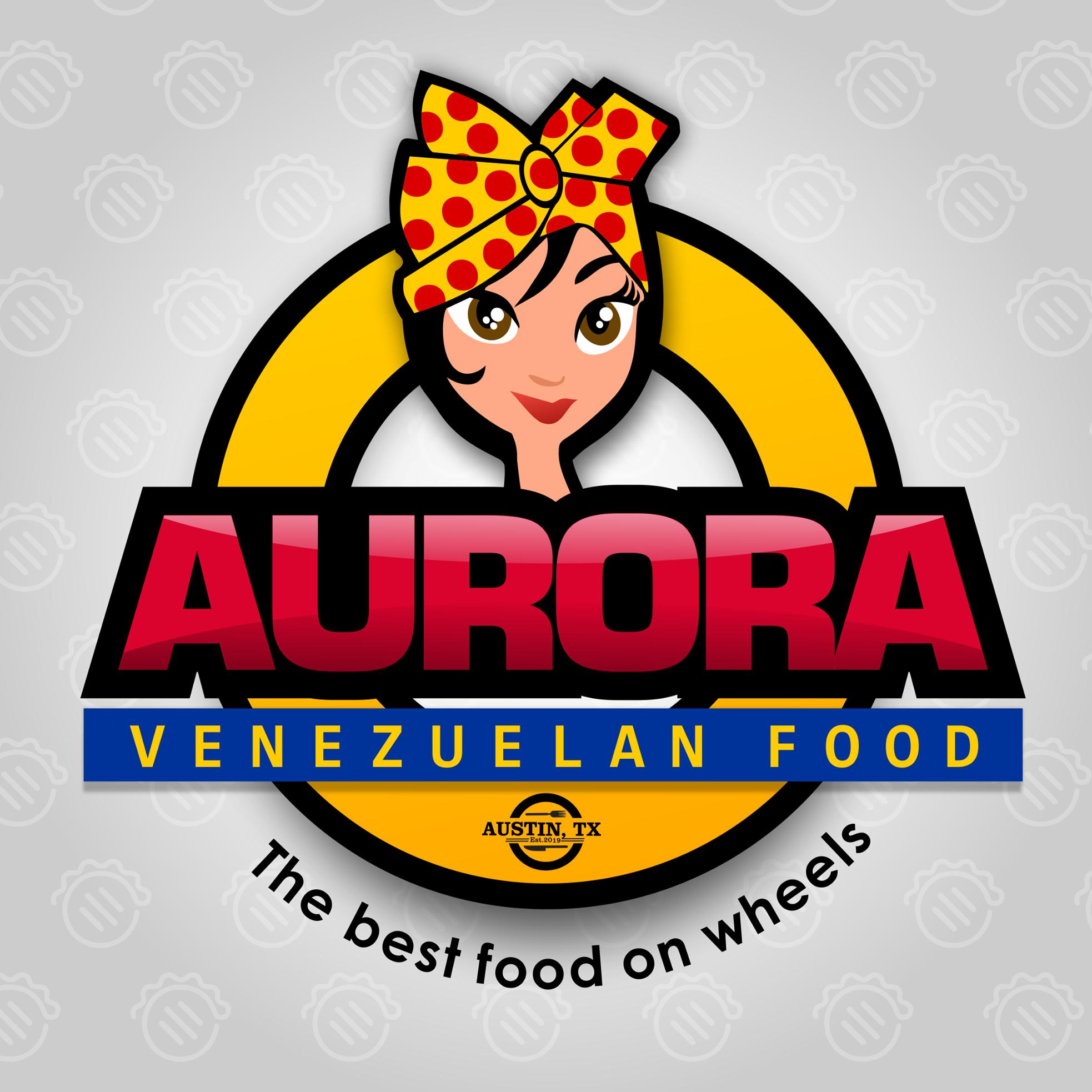 Aurora Venezuelan Food logo