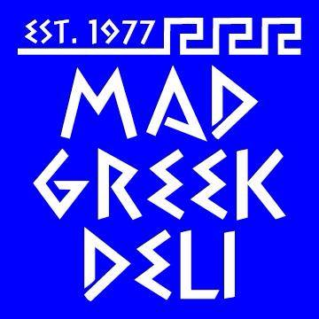 Mad Greek Deli logo