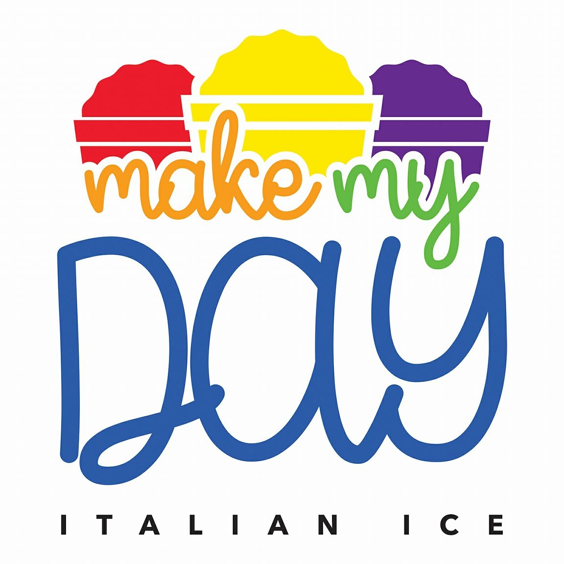 Make My Day Italian ice logo