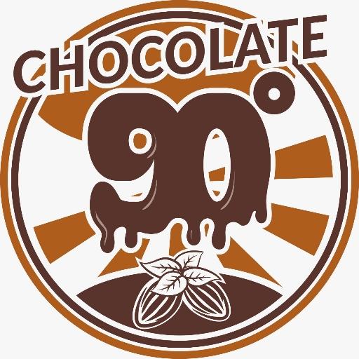 90 Degrees Chocolate logo