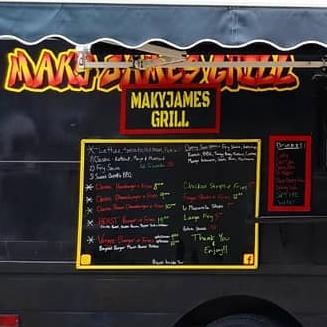 MakyJames Grill logo