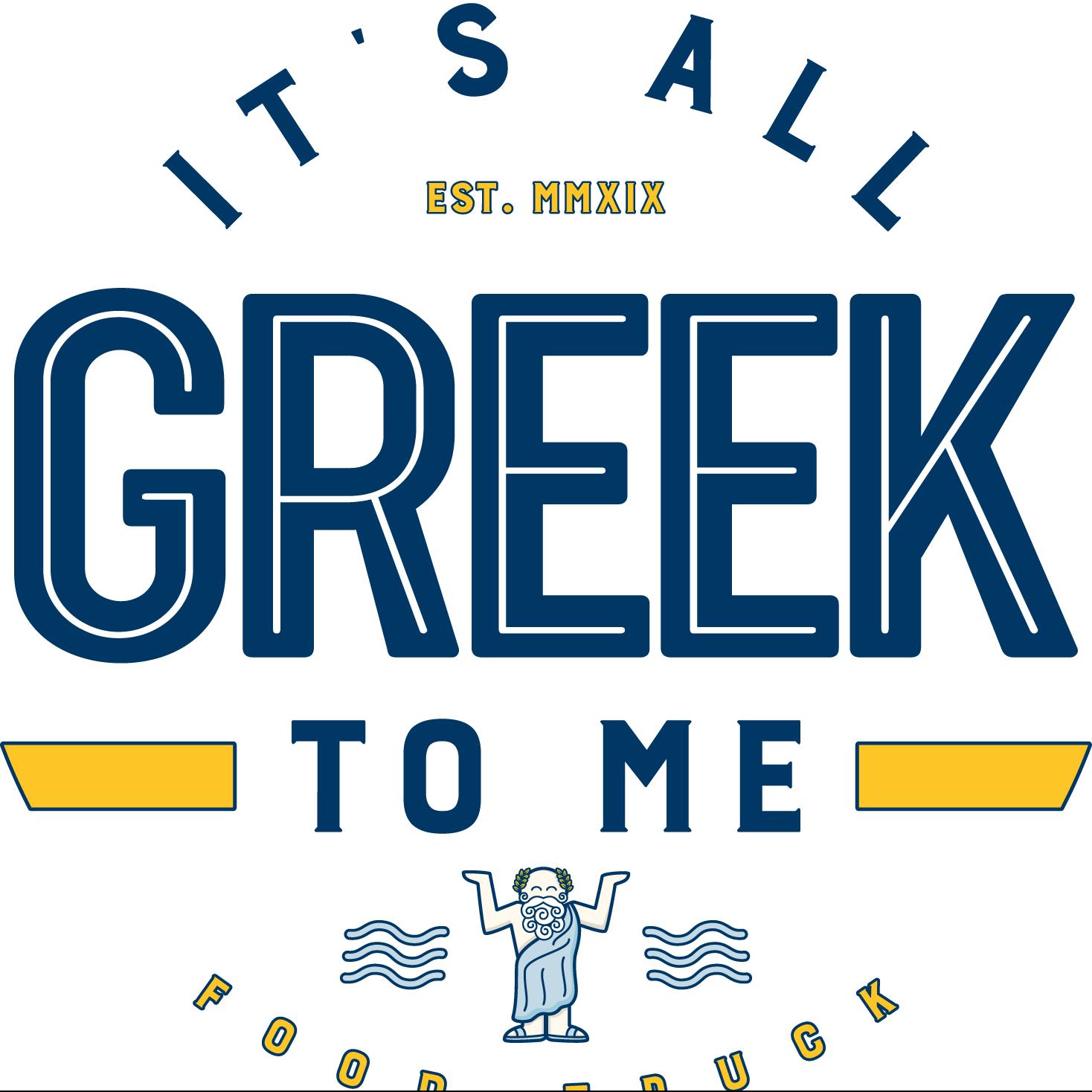 It's all Greek to Me logo